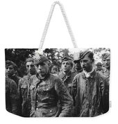 taken prisoner in Normandy Weekender Tote Bag