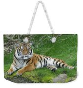 Takin It Easy Tiger Weekender Tote Bag