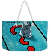Taking A Chance Weekender Tote Bag