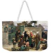 Taking In Foundlings Weekender Tote Bag by Leon Augustin Lhermitte