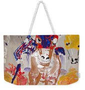 Taking The Lead Weekender Tote Bag