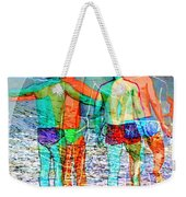 Taking The Plunge Together Weekender Tote Bag