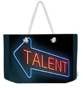 Talent Concept. Weekender Tote Bag