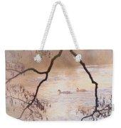 Tales From The Riverbank  Iv Weekender Tote Bag