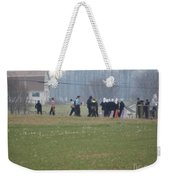 Talking After The Volleyball Game Weekender Tote Bag