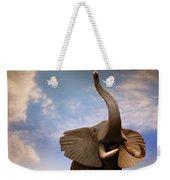Talking Elephant Weekender Tote Bag