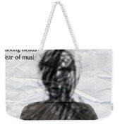 Talking Heads Fear Of Music  Weekender Tote Bag