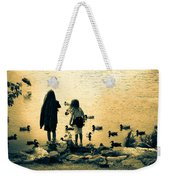 Talking To Ducks Weekender Tote Bag