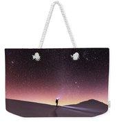 Talking To The Stars Weekender Tote Bag