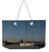 Tall Boats In The Morning Weekender Tote Bag
