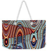 Tall Building Showing Colors Weekender Tote Bag