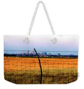 Tall City Morning Weekender Tote Bag