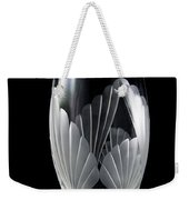 Tall Crystal Vase Weekender Tote Bag