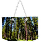 Tall Forest Weekender Tote Bag