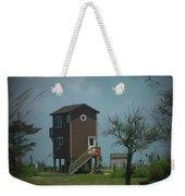 Tall Little Stilt House, Weekender Tote Bag