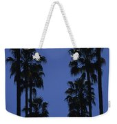 Tall Palm Trees In A Row Weekender Tote Bag