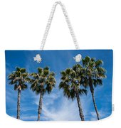 Tall Palms Couples Weekender Tote Bag
