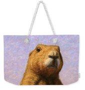 Tall Prairie Dog Weekender Tote Bag