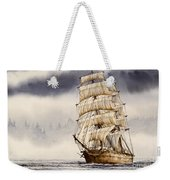 Tall Ship Adventure Weekender Tote Bag