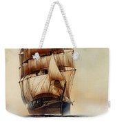 Tall Ship Carradale Weekender Tote Bag