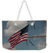 Tall Ship Flag IIi Weekender Tote Bag