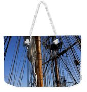 Tall Ship Rigging Lady Washington Weekender Tote Bag