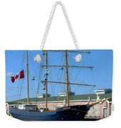Tall Ship Waiting Weekender Tote Bag