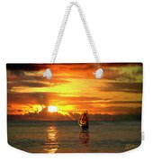 Tall Ships And The Trade Route Weekender Tote Bag
