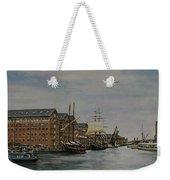 Tall Ships At Gloucester Docks Weekender Tote Bag
