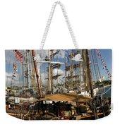 Tall Ships Heritage Landing Weekender Tote Bag