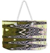 Tall Tempe Building Abstract Weekender Tote Bag