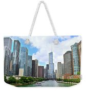 Tall Towers In Chicago Weekender Tote Bag