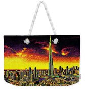 Tallest Building In The World Weekender Tote Bag