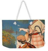 Talloires, France, Paris Lyon Mediterranean Weekender Tote Bag