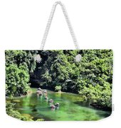 Tam Coc Boats On Ngo Dong River  Weekender Tote Bag