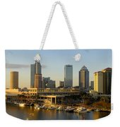 Tampa Bay And Gasparilla Weekender Tote Bag