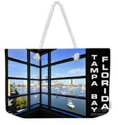 Tampa Bay Florida Weekender Tote Bag