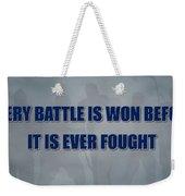 Tampa Bay Lightning Battle Weekender Tote Bag