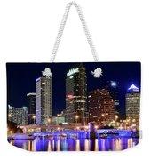 Tampa Bay Pano Lights Weekender Tote Bag