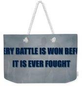 Tampa Bay Rays Battle Weekender Tote Bag