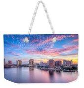 Tampa Bay Sunrise Weekender Tote Bag