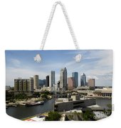 Tampa Florida Landscape Weekender Tote Bag