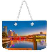 Tampa Sunrise Weekender Tote Bag