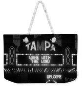 Tampa Theatre 1939 Weekender Tote Bag
