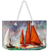 Tanbarque Rounds The Mark Weekender Tote Bag