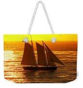 Tangerine Sails Weekender Tote Bag