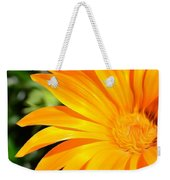 Tangerine Side Bloom Weekender Tote Bag