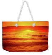 Tangerine Sunset Weekender Tote Bag