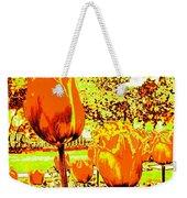 Tangerine Tulips Weekender Tote Bag