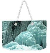 Tangle Falls Frozen Blue Cascades Weekender Tote Bag
